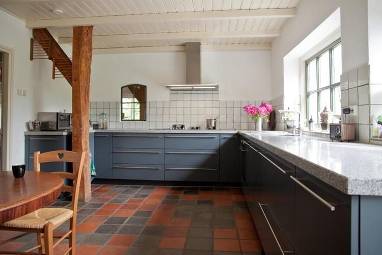 Moderne Blauw Keuken : Blauwe keukens qasa