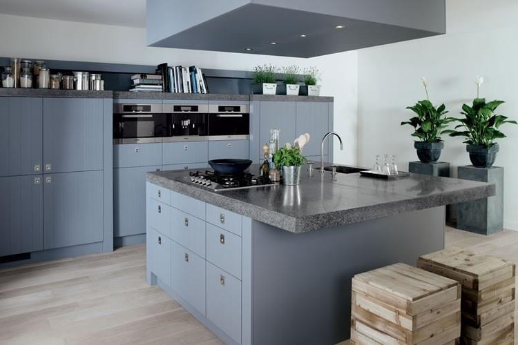 Moderne Blauw Keuken : Keuken kleuren ieder kleur mogelijk bekijk voorbeelden ardi