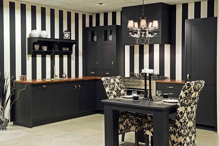 Zwarte keukens qasa