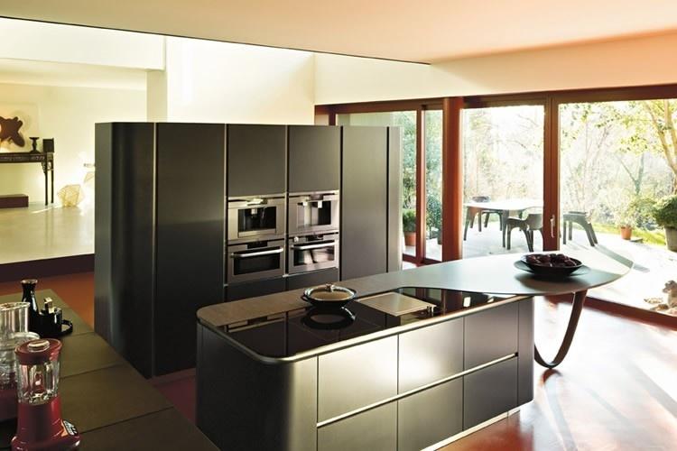 Zwarte keukens qasa.nl