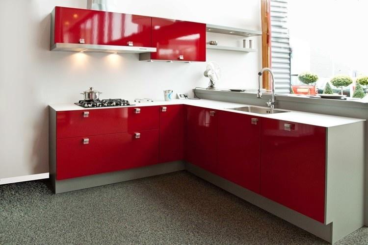 Keuken rood wit tefal super chef keuken rood wit m accessoires imitatiespeelgoed smeg - Keuken rode en grijze muur ...