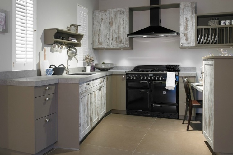Keuken Steigerhout Wit : Keuken van steigerhout Qasa.nl