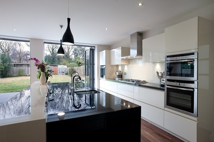 Simple Kitchen Extension kitchens extensions designs kitchen extension with large double