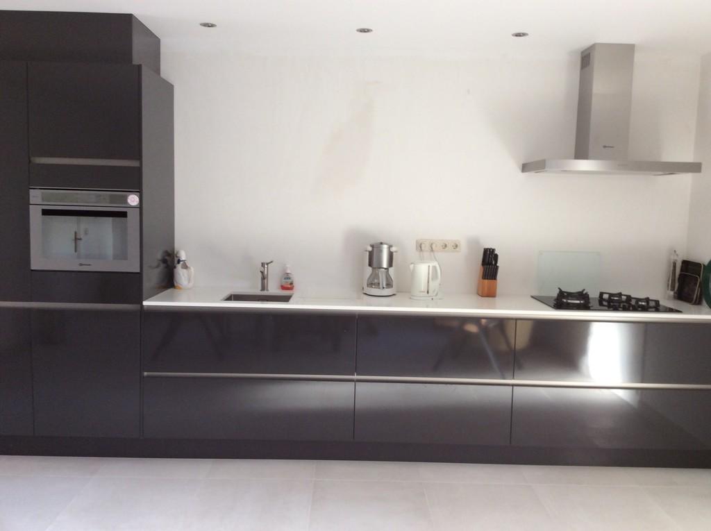 Rechte Keukens 4 Meter: Bkb keukens rechte keuken glans.